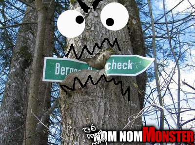 Sign Eating Tree