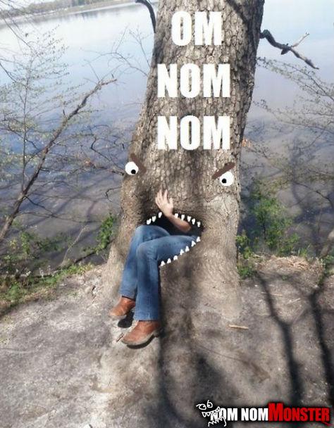nom nom tree