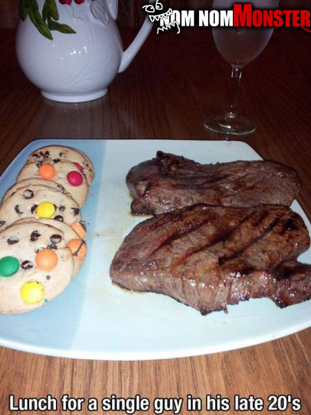 bachelor-meal