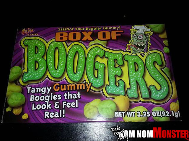 booger-candy