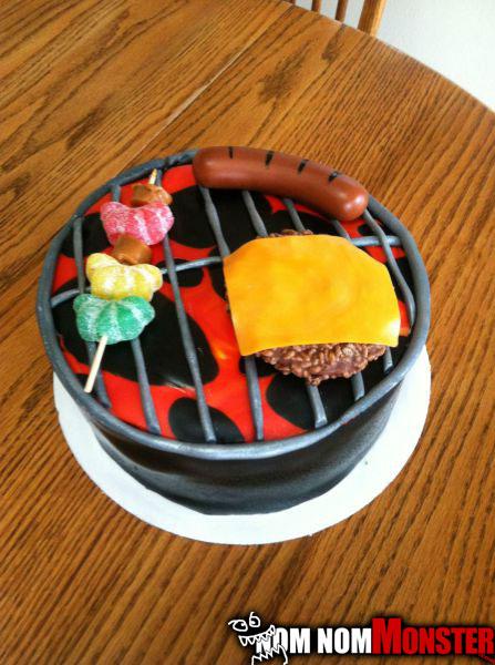 bbq-cake