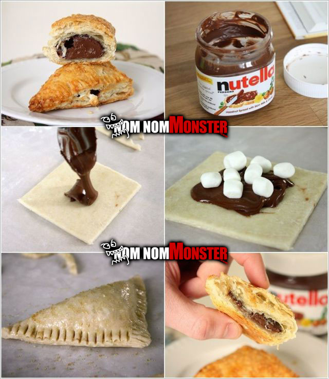 nutella-turnovers